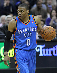 Russell Westbrook 2011.