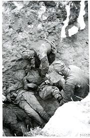 Russians bury their fallen. Kollaanjoki 15.-16.7. 1944. Kollaanjoki 15 to 16.7. 1944.