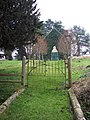 Rusty Gate and Disused Chapel - geograph.org.uk - 299023.jpg