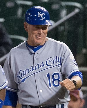 Rusty Kuntz - Kuntz with the Royals in 2013