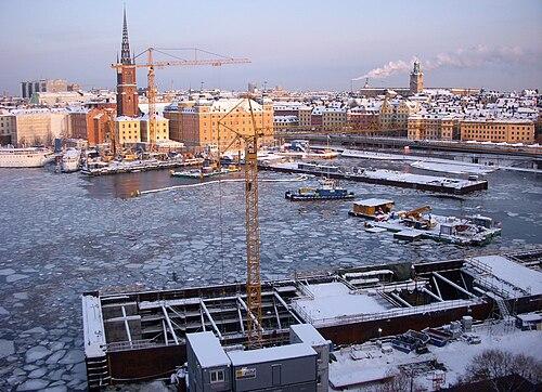 ånglok stockholm gävle jul