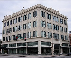 The S. H. Kress and Co. Building is on the National Register of Historic Places. S. H. Kress and Co. Building (St. Petersburg, Florida).jpg