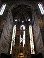 S. croce, cappella maggiore con affreschi di agnolo gaddi 01.JPG