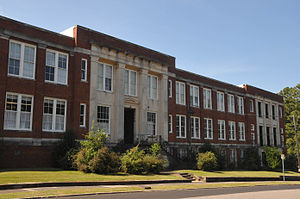 National Register of Historic Places listings in Lee County, North Carolina - Image: SANFORD HIGH SCHOOL, FORMER; LEE COUNTY