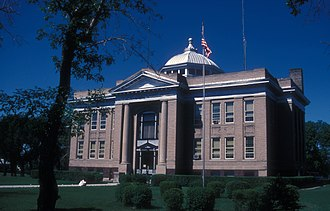 Sargent County, North Dakota - Image: SARGENT COUNTY COURTHOUSE