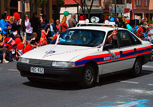 South Australia Police - 1980s SAPOL Highway Patrol Car