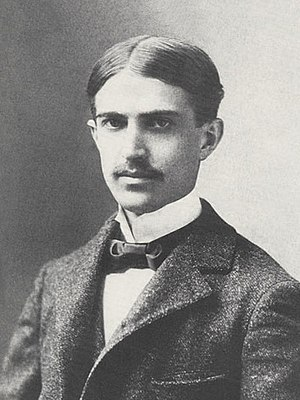 Stephen Crane - Formal portrait of Stephen Crane taken in Washington, D.C., about March 1896
