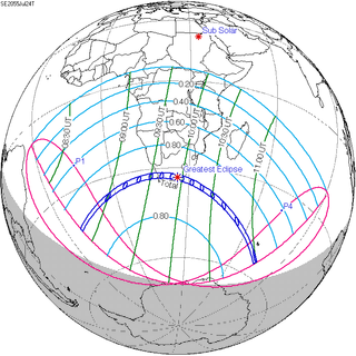 Solar eclipse of July 24, 2055