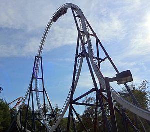 Full Throttle (roller coaster) - Image: SFMM Full Throttle