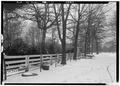 SIDE YARD SHOWING FENCE. - General Joseph Wheeler House, State Highway 20, Wheeler, Lawrence County, AL HABS ALA,40-WHEL,1-15.tif