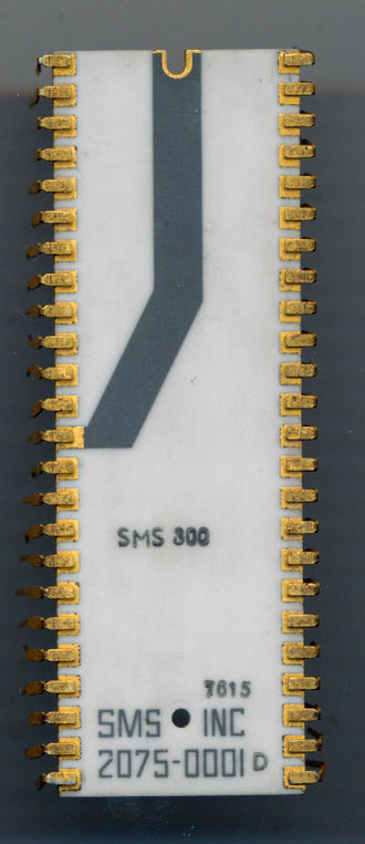 Signetics 8X300 - SMS 300 - Early 1976