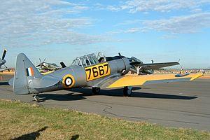 8 Squadron SAAF - Image: SNJ 4 Texan 7667