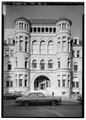 SOUTHWEST FRONT TOWERS - Customs House and Post Office, Eleventh Street, Chattanooga, Hamilton County, TN HABS TENN,33-CHAT,1-5.tif