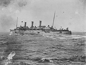 QSMV Dominion Monarch - Image: SS Empress of Russia 1914 1916
