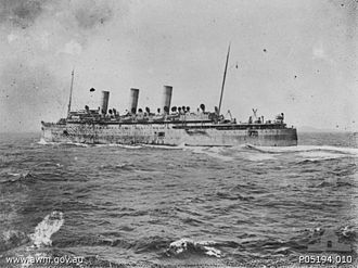 QSMV Dominion Monarch - Image: SS Empress of Russia 1914 1916