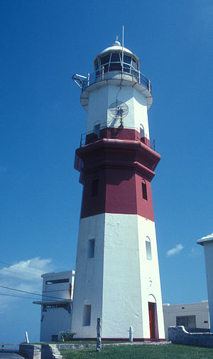 St. David's Lighthouse - The tower in 2007