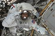 STS-129 EVA2 Randolph Bresnik 2