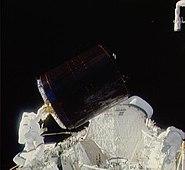 STS-51-A Palapa B-2 retrieval