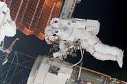 STS117 EVA2 Steven Swanson