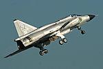 Saab AJS-37 Viggen 37098 52 (SE-DXN) (9258859374).jpg