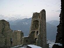 Torre della Bell'Alda e rovine del Monastero Nuovo