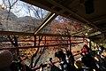 Sagano Scenic Railway train interior 171205 (39064971271).jpg