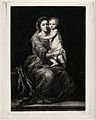 Saint Mary (the Blessed Virgin) with the Christ Child. Etchi Wellcome V0033767.jpg