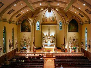 Saint Patrick Church (Columbus, Ohio) - Interior