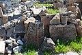 Saint Sargis Monastery of Ushi (khachkar) (09).jpg