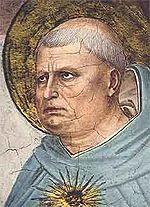 S. Tomás de Aquino, por Fra Angelico. A sua doutrina é um dos pilares da Doutrina Social católica