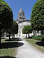 Saintes (17) Église abbatiale Sainte-Marie-aux-Dames - Extérieur - Chevet 04.jpg