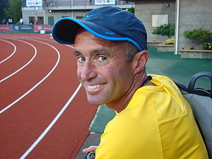 English: Alberto Salazar, taken in Eugene