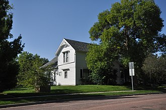 National Register of Historic Places listings in McCook County, South Dakota - Image: Salem SD Henry Kuhle House