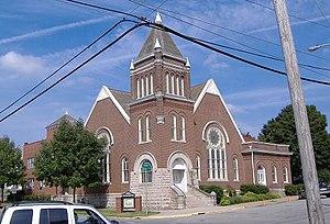 First Baptist Church (Salem, Indiana) - Image: Salem IN First Baptist Church