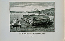 An Astoria Salmon cannery.