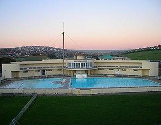 public swimming spot