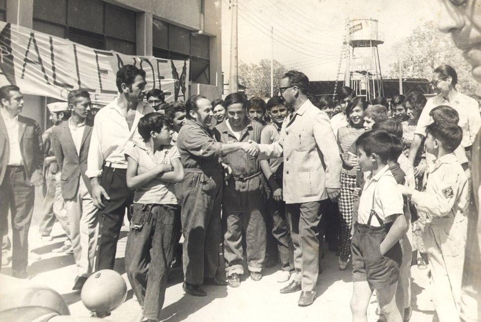 Salvador Allende, 1972