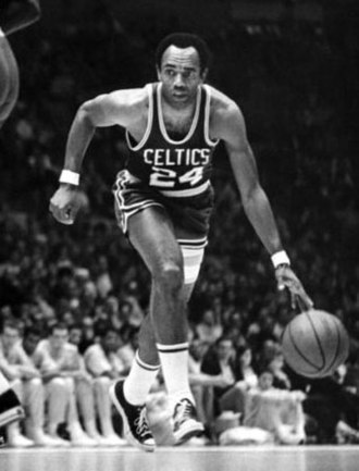 Sam Jones (basketball) - Jones playing for the Celtics in 1969