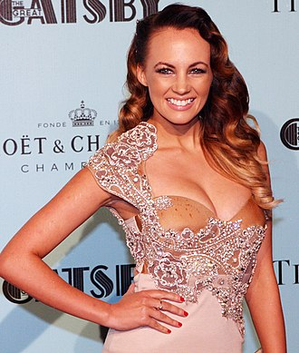 Samantha Jade - Jade at the Sydney premiere of The Great Gatsby in May 2013