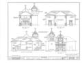 San Carlos Presidio Church, 550 Church Street, Monterey, Monterey County, CA HABS CAL,27-MONT,1- (sheet 4 of 28).png