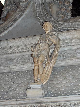 St. Proclus (Michelangelo) - Image: San Domenico 34