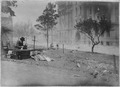 San Francisco Earthquake of 1906, Last message sent in front of Hall of Justice before the approach of the fire.... - NARA - 522953.tif