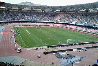 Stadio San Paolo stadium in Fuorigrotta, Naples, Italy