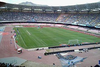 Stadio San Paolo - Image: San Paolo Curva A
