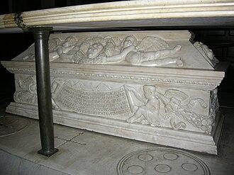 Piccarda Bueri - Tomb of Giovanni di Bicci and Piccarda Bueri
