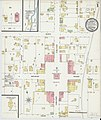 Sanborn Fire Insurance Map from Lawrenceburg, Lawrence County, Tennessee. LOC sanborn08334 002-1.jpg