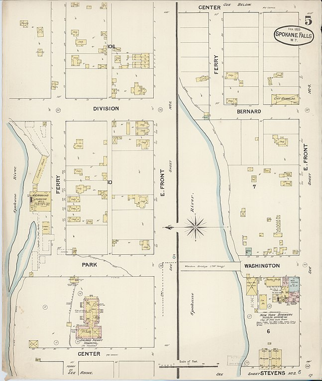 File Sanborn Fire Insurance Map From Spokane Spokane County