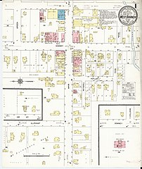 West Branch Iowa Map.File Sanborn Fire Insurance Map From West Branch Cedar County Iowa