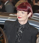 A photo of Sandy Powell attending Berlinale in 2011.