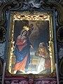 Santuario della Comparsa, interno - Quadro Caravaggio.jpg